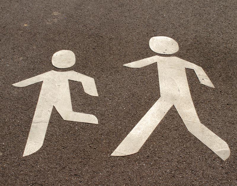 Urteile für Fußgänger: © Hofschlaeger / pixelio.de
