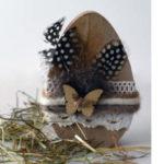 Unsere Bastelidee für Ostereier aus Holz