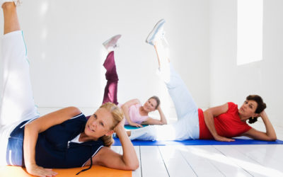 Stretching bringt den Körper in Schwung
