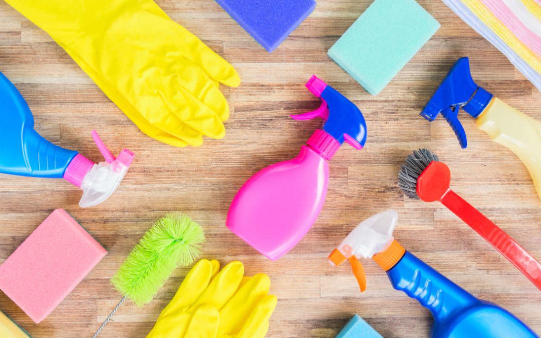 Ganz schnell sauber – 7 Tipps für den Frühjahrsputz