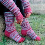 Socken & Armstulpen stricken leicht gemacht