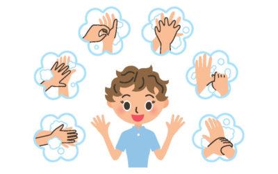 Krankheiten vorbeugen – richtig Hände waschen