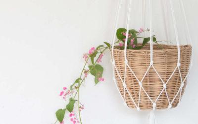 Alte Knoten neu entdecken – Ideen mit Makramee