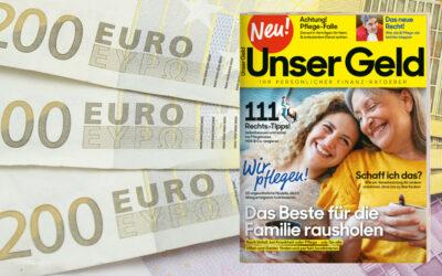 """Finanz-Ratgeber """"Unser Geld"""""""